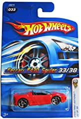 "Hot Wheels 2006-033 First Editions Ferrari Spider F430 Hot Wheels 2006-033 First Editions Ferrari Spider F430 1:64 Scale 1:64 Scale ~3"""
