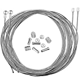 Hotop Cable de Freno de Bicicleta de Carretera Set de Alambre Cable de Engranaje y Tapas (Cable de Freno de Bicicleta de Carretera Estilo B)