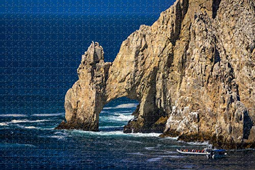 Cabo San Lucas Mexico Jigsaw Puzzle for Adults 1000 Piece Wooden Travel Gift Souvenir