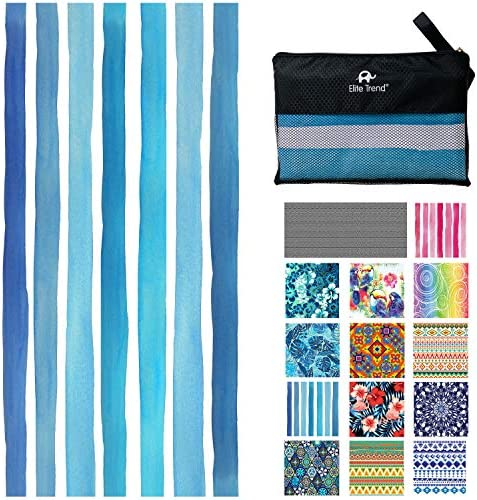 Microfiber Quick Drying Beach Towel for Travel Extra Large XL 78x35 Maldives Oversized Swim product image