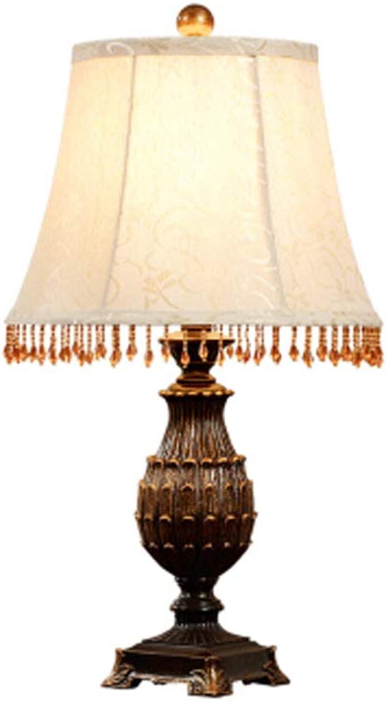 TYXHZL Schlafzimmer Nachtlampe Amerikanischen Land Retro-Code Kreative Dekoration Studie Wohnzimmertisch Lampe B07GDKCGN9       Rabatt