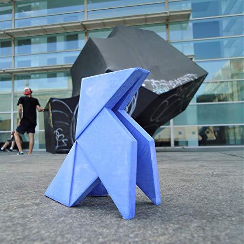 Pajarita de papel de estilo origami personalizable con imanes, origami, cocotte, deco de mesa, deco de casa, diseño origami, pajaro de papel, Yumilab