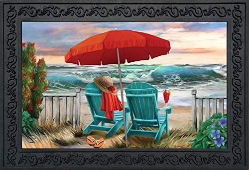 Briarwood Lane Beach Life Summer Indoor Outdoor Bombing new work Doormat Nautical Limited price