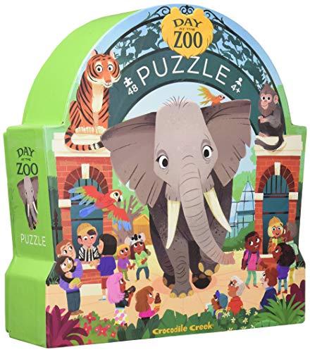 Crocodile Creek 48 el. DzieĹ w muzeum Zoo [Puzzle] (Juguete)