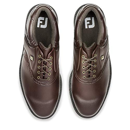 FootJoy Men's Originals Golf Shoes Brown 9 M Texture Print, US