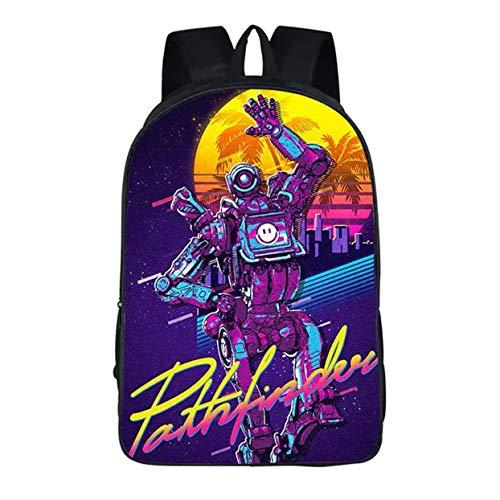 Ku-lee APEX Legends Backpack Rucksack-APEX Legends Game School Bag Laptop Bag-Backpack for Kids Adult