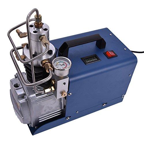 Newtry Elektrischer Mini-Luftkompressor mit 30 mpa für Pneumatische Luftpistole, Scuba Gewehr, PCP Inflator (1,8 kW)