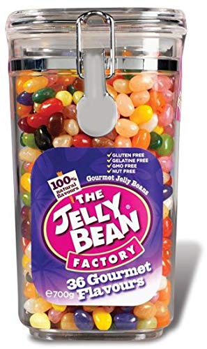 The Jelly Bean Factory 36 Huge Flavours – 700 Gram Jar