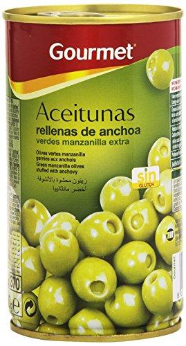 Gourmet Aceitunas Rellenas de anchoa - 150 g