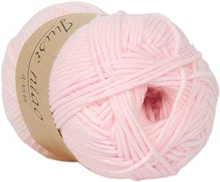 Clearance Sale ! Milk Cotton Wool,Vanvler 1PC 50g Chunky Colorful Hand Knitting Baby Crochet Knitwear Yarn (A)