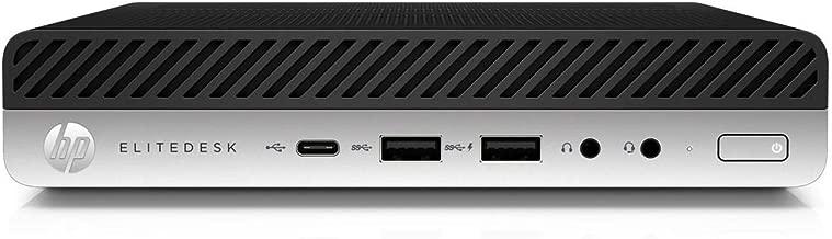 $679 Get 2019 New HP ELiteDesk 800 Business Ultra Small Mini Desktop: Intel Quad-core i5-7500, 8GB RAM, 256GB SSD,Wif, Bluetooth, USB-C, VGA, DisplayPort,USB Keyboard and Mouse, Windows 10 pro-2.67LB