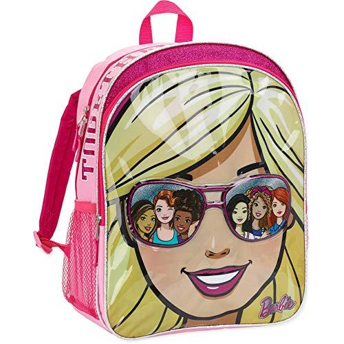 Barbie Star Shine Mochila escolar para niñas de 16 pulgadas
