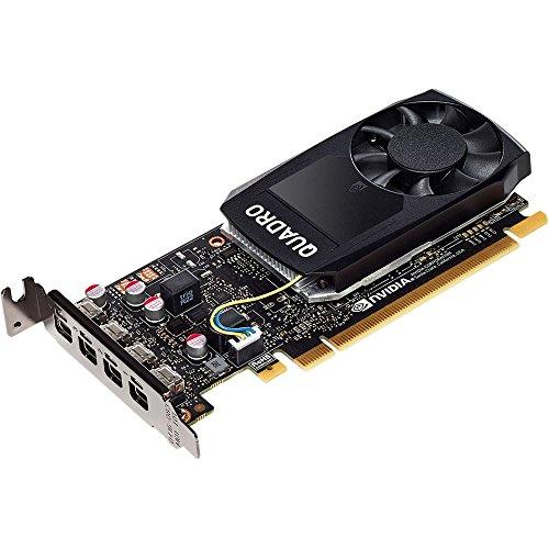 HP 1ME01AT NVIDIA Quadro P1000 - Graphics card - Quadro P1000 - 4 GB GDDR5 - PCIe 3.0 x16 low profile - 4 x Mini DisplayPort - for Workstation Z240 (S