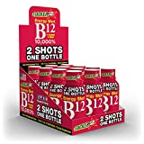 B12 Energy Shot 4OZ (NOT 2OZ) 10,000%, ACAI & Pomegranate by STACKER 2 (LOT of 12 Pieces) Free Shipping