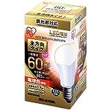 アイリスオーヤマ LED電球 口金直径26mm 60W形相当 電球色 全方向タイプ 調光器対応 LDA8L-G/W/D-6V1