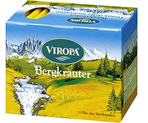 Bergkräuter Tee 15 Filterbeutel - Viropa