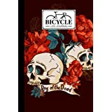 "Bicycle Log Journal: Cycling Logbook Skull Cover, Bike Riding, Bicycle Lovers, Log Book to keep track of daily Biking Training | 120 Pages, Size 6"" x 9"" 