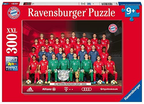 Ravensburger Kinderpuzzle 12847 - FC Bayern Saison 2019/20 - 300 Teile