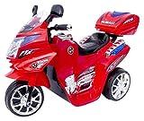Actionbikes Motors Kinder Elektroauto Motorrad C051 Elektro Motorrad Kinderfahrzeug (rot)