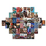 Aesthetic Wall Collage Kit 50 Set Room Decor for Boys Girls Wall Collage Kit Aesthetic Pictures 4x6 inch, Photo Collage Kit for Wall Aesthetic