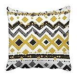 Personalized Pillow Covers Funda de Almohada de algodón de 18 x 18 Pulgadas, Funda de Almohada Decorativa Cuadrada con impresión de Dos Lados para decoración del hogar