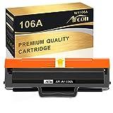 Cartucho de tóner compatible Arcon HP 106A W1106A para HP Laser MFP 135wg MFP 137fwg MFP 135ag MFP 135w 135a 137fnw 107a 107w 107r negro cartucho de tóner (1 unidad)