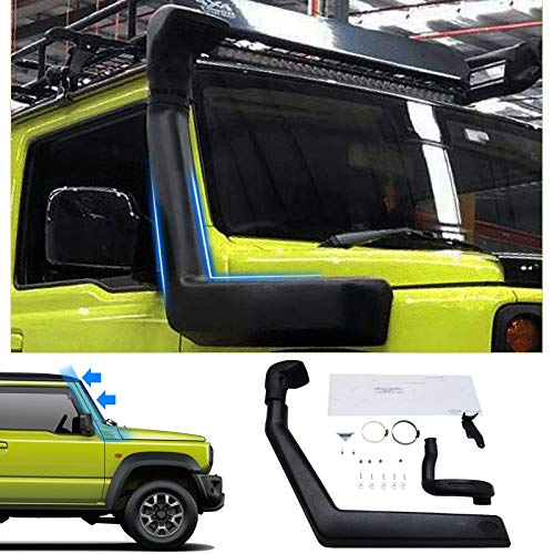 Huadi Für Suzuki Jimny 2018 2020 JB64 JB74W LLDPE Schnorchel-Set (schwarz)