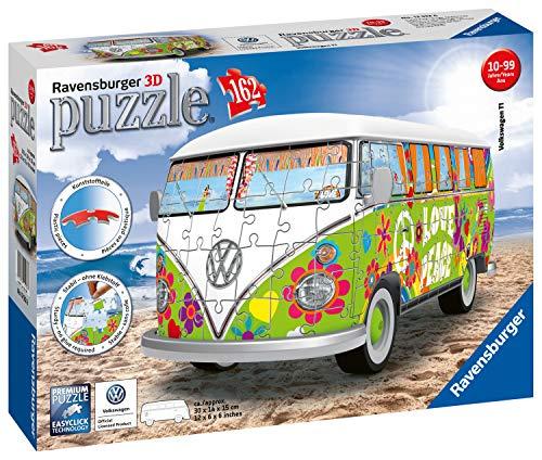 Ravensburger 3D Puzzle 12532 - Volkswagen T1 - Hippie Style - 162 Teile