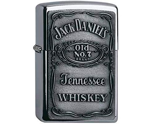 Zippo-aansteker motief Jack Daniels