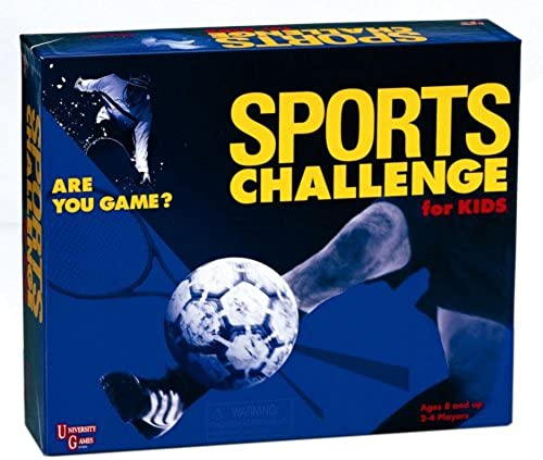 Sports Challenge for Kids by University Games