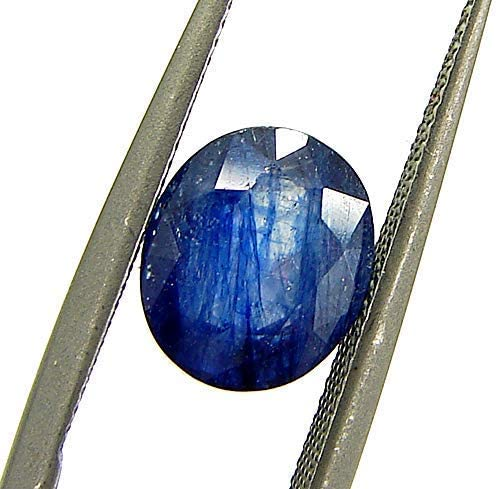Super sale period limited LMDPRAJAPATIS Natural Certified 100% Sapphire Blue Sept Tulsa Mall Original