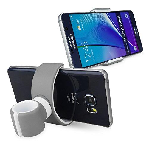 Stand and and Mount, BoxWave® [BabyGo kinderwagenbevestiging] Clip On Device Mount Perfect voor joggen kinderwagens voor smartphones en tablets - Grijs
