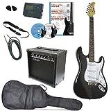Clifton Guitare électrique kit de débutant complet avec amplificateur