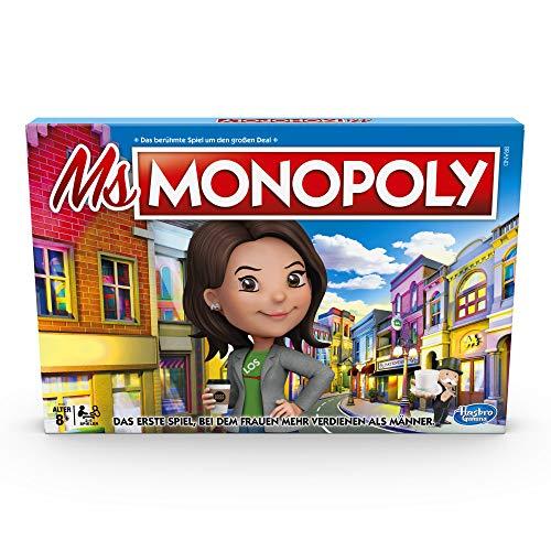 Ms Monopoly, Gesellschaftsspiel für Erwachsene & Kinder, ab 8 Jahren