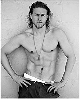 """Best Sons of Anarchy Charlie Hunnam as Jackson """"Jax"""" Teller Shirtless HOT Hands on Hips 8 x 10 Photo Review"""
