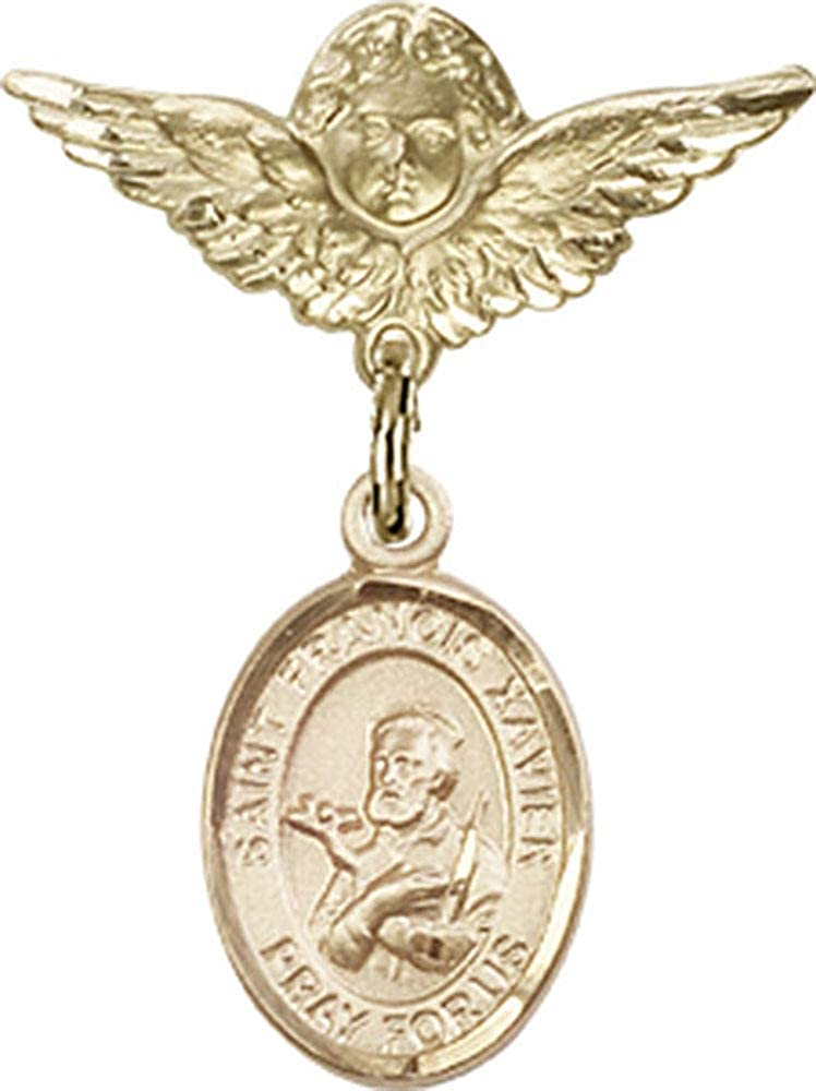 Jewels Translated Obsession Baby Badge with St. Francis Xavier Tucson Mall Charm An and