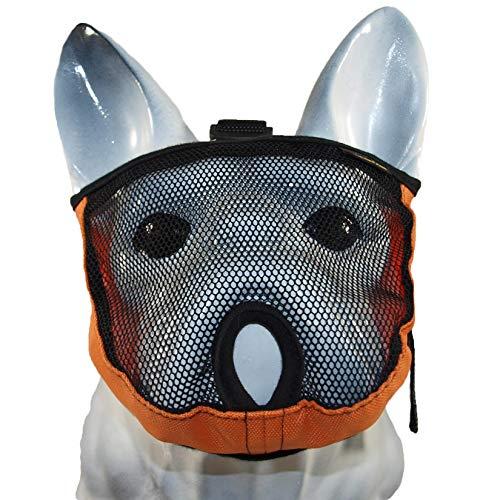 Brachycephalic Bozal para perros con hocico aplanado: bulldog inglés, bulldog francés, pekingés, shih-Tzu, carlino, también adecuado para gatos, circunferencia de la cabeza (XXS 28-40 cm)
