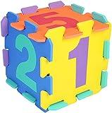 BIECO 19201505–Puzzle Números, 10Piezas