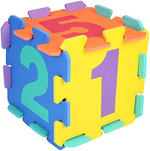 BIECO 19201505 – Puzzle Números, 10 Piezas