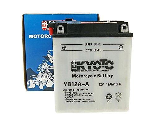 Batterie Kyoto 12V CB12A-A / 12N12A-4A-1 - BENELLI Tornado 650 [ inkl.7.50 EUR Batteriepfand ]