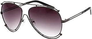 Full Metal Frame Fashion Aviator Sunglasses