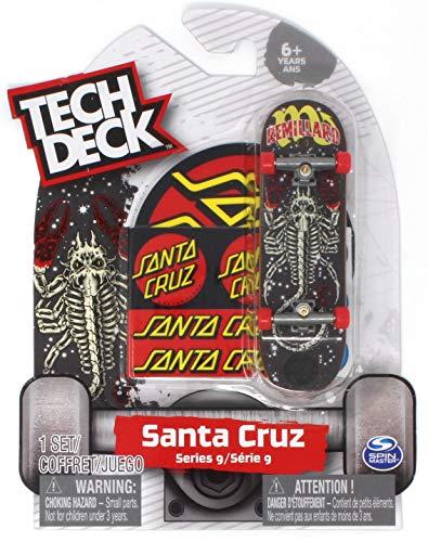 Tech Deck Santa Cruz Skateboards Rare Series 9 Tom Remillard Zodiac Fingerboard