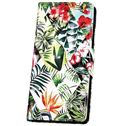 JAWSEU Compatibile con iPhone 6/6S Custodia Pelle Portafoglio Cover Libro PU Leather Flip Wallet Case Antiurto 3D Moda Colorato Modello Supporto Magnetica Protettiva Cover,#8