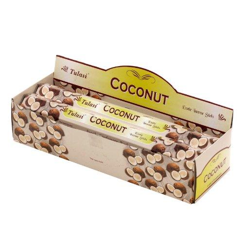 Incienso Tulasi Coconut 6x20