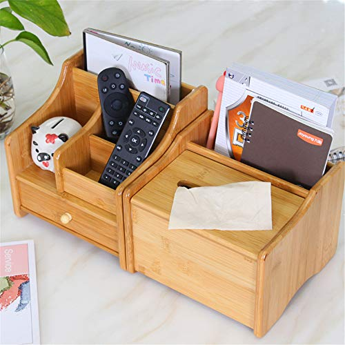 CHSEEO Organizador de Escritorio Caja de Almacenamiento Caja Multiusos Caja Joyero Estante de maquillajes Cosméticos Joyería Organizador Titular de Almacenamiento #4
