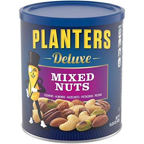 Planters Deluxe Pistachio Mix, 18.5 oz. Resealable Container | Pistachio Lover's Mix: Pistachios, Almonds & Cashews… 3