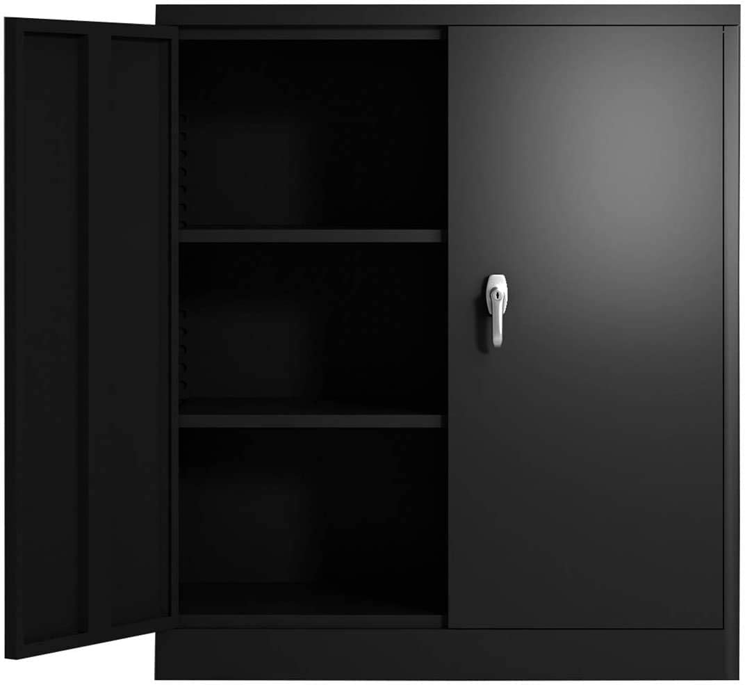 3 Shelf Steel Storage Cabinet Family Large-scale sale Counter 2021 C Life Height File