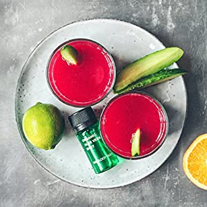Organic Aloe Vera Shots (Box of 30 x 40ml Shots) - Rich in Acemannan - Cleansing