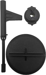 mewmewcat Conjunto de ferramentas de drenagem de óleo Ferramentas compatíveis com conjunto de adaptadores de óleo de trans...