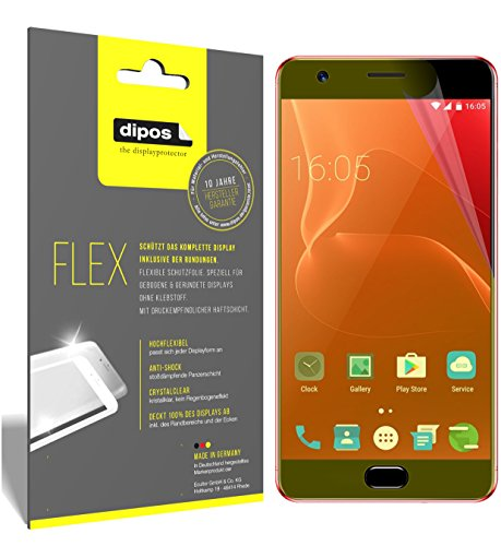 dipos I 3X Schutzfolie 100prozent kompatibel mit Elephone P8 Max Folie (Vollständige Bildschirmabdeckung) Bildschirmschutzfolie